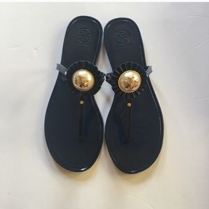 0742c442a9ed Tory Burch Shoes - Tory Burch Melody Jelly Sandal (Navy) 9